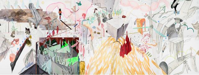 , 'Vulnerable Drawing No. 650,' 2013, Baik Art