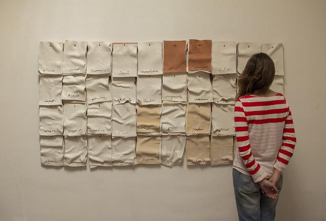 , 'Paño - acción,' 2013, Isabel Aninat