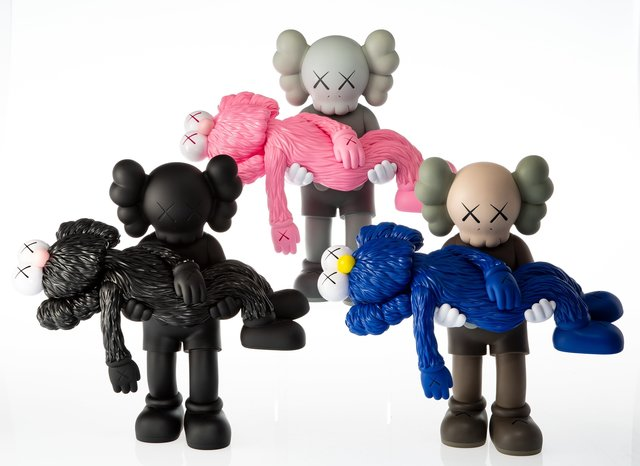 KAWS, 'Gone, set of three', 2019, Heritage Auctions