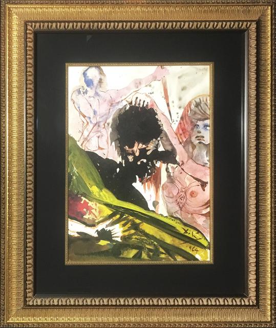 Salvador Dalí, 'Judith Beheads Holfernes', 1967, Print, Original colored lithograph on heavy rag paper, Baterbys