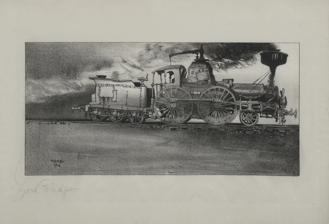 , 'The Old Locomotive (Windspiel),' 1906, Moeller Fine Art