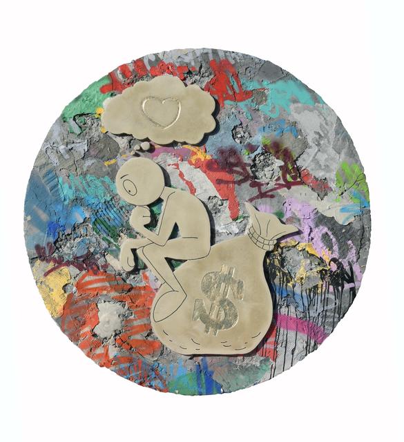 , 'The Thinker (Gold Leaf),' 2019, Markowicz Fine Art