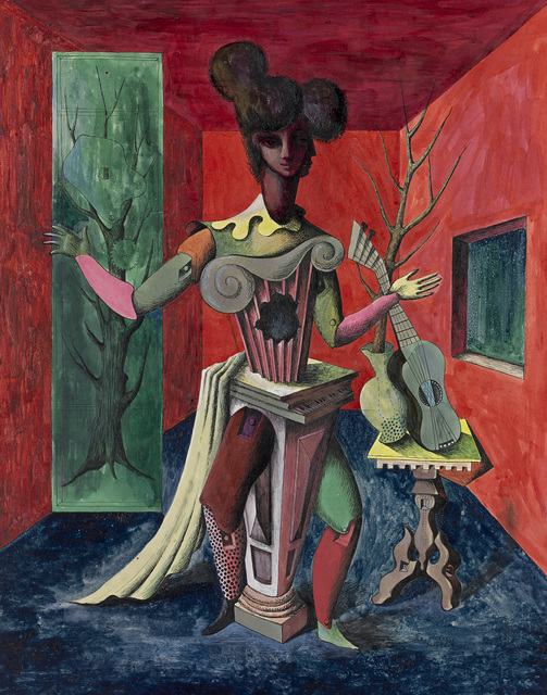 Loudon Sainthill, 'The Actress ', 1947, National Gallery of Victoria