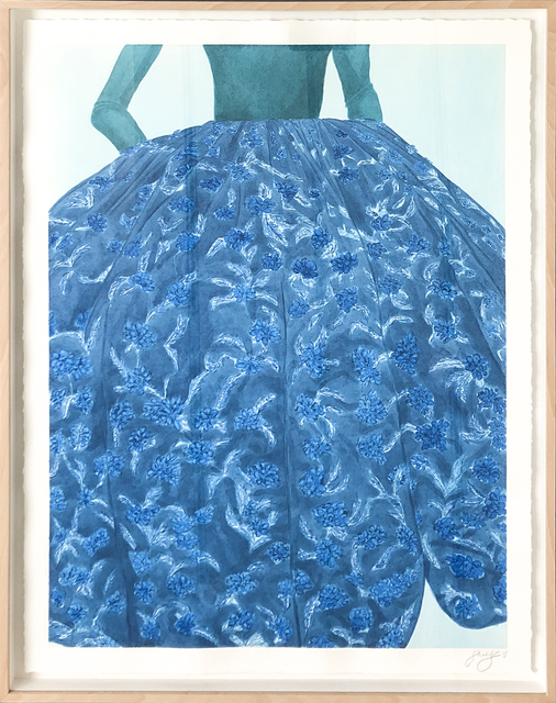 , 'Showstopper in Blue,' 2018, 99 Loop Gallery