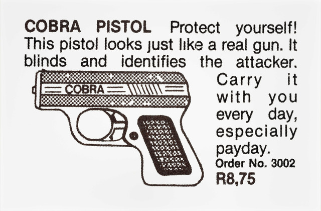 , 'Cobra Pistol,' 2014, Goodman Gallery