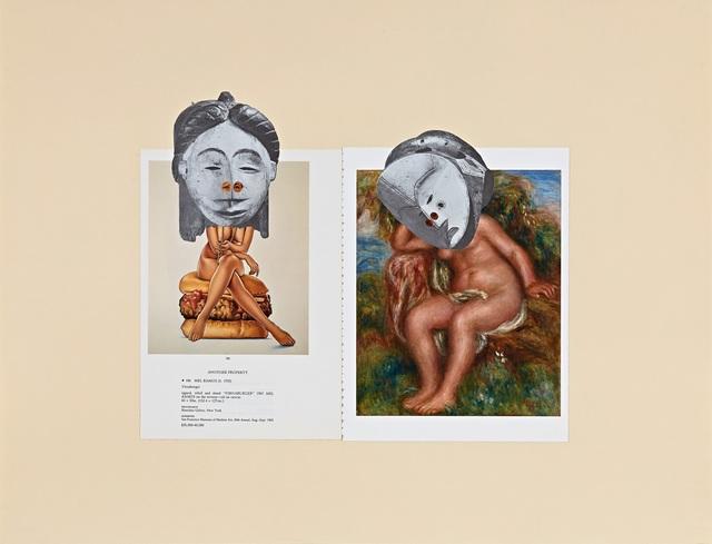 , '(Muses series): BLACK [title: Muses (Artifact 1)],' 2015, Seattle Art Museum