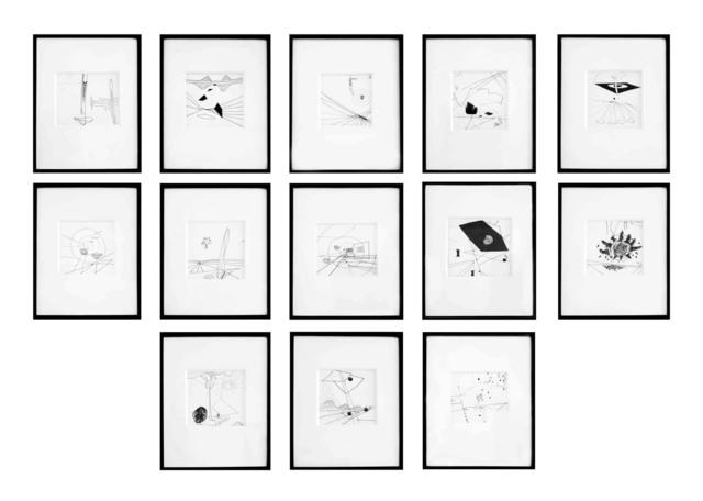 , '13 drawings ,' 1941, Galería La Cometa