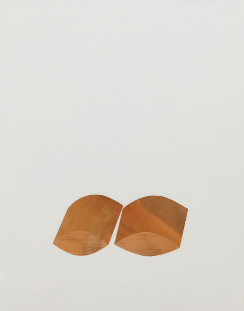 , 'Untitled (Copper eyes extruded),' 2017, Lullin + Ferrari
