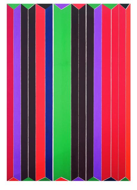 , 'Negli intervalli,' 1967, Lorenzelli arte