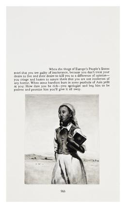 Yevgeniy Fiks, 'Ayn Rand in Illustrations (Atlas Shrugged, page 966)', 2010, Winkleman Gallery