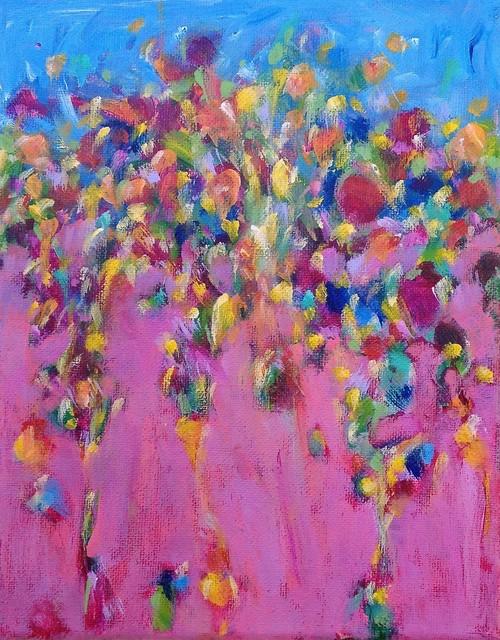 , 'Beach Dancing #3,' 2013, Denise Bibro Fine Art