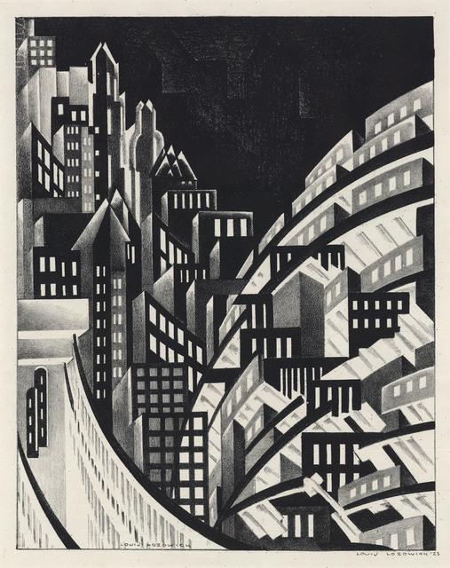 , 'New York.,' 1926., The Old Print Shop, Inc.