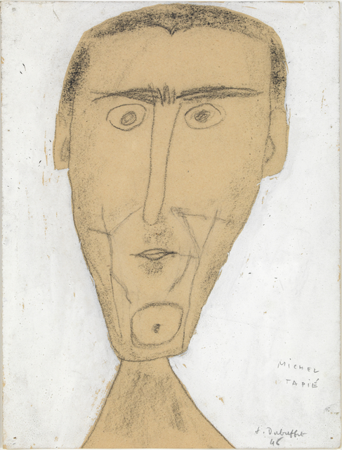 , 'Portrait Michel Tapie,' 1946, The Gallery of Everything