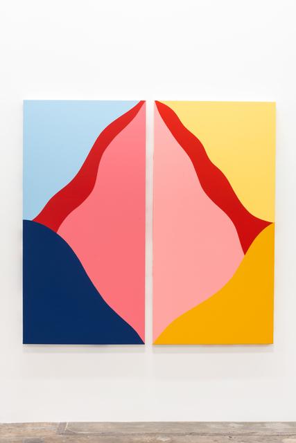 , 'untitled diptych #002,' 2019, Brannan Mason Gallery