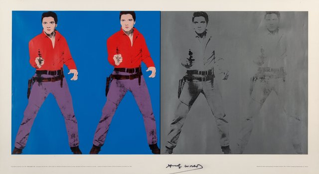 Andy Warhol, 'Elvis I and II', 1978, Heritage Auctions