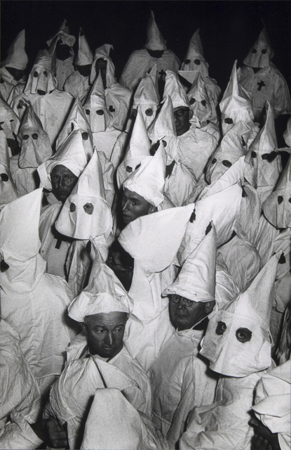 , 'Untitled, from The Ku Klux Klan,' 1955, Etherton Gallery