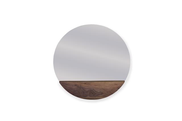 , 'Aparicio Mirror,' 2014, mob