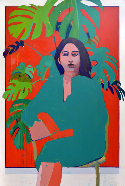 Patrick Puckett, 'Woman and Painting', 2019, Wally Workman Gallery