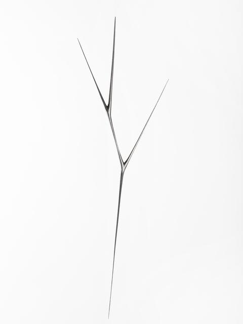 , 'Untitled #4 (Graphite Suspended Sculpture),' 2018, Patrick Parrish Gallery