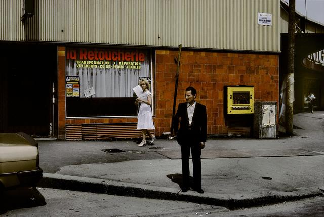 , 'FRANCE. Ile-de-France region. Seine Saint Denis department. La Courneuve. Streetscene, 1985.,' 1985, Magnum Photos