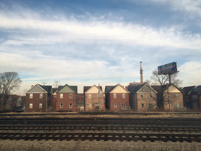 , 'Train View (Houses),' 2014-2016, devening projects