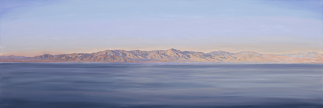, 'Salton Sea Morning,' 2016, Sue Greenwood Fine Art