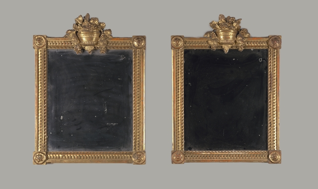 , 'Pair of mirrors,' 19th century, Cooper Hewitt, Smithsonian Design Museum