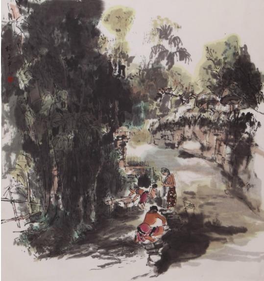 , 'Riverside,' , Ode to Art
