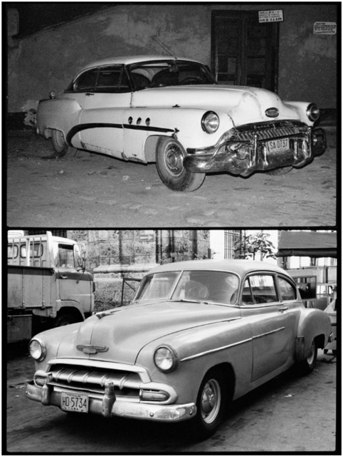 , 'Cars, from the Cuba series,' 1981, Galleria Raffaella Cortese