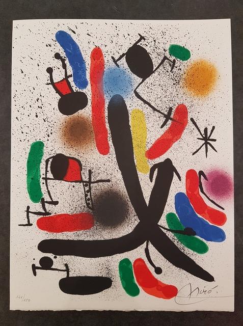 Joan Miró, ' Lithographie I ', 1972, Hidden