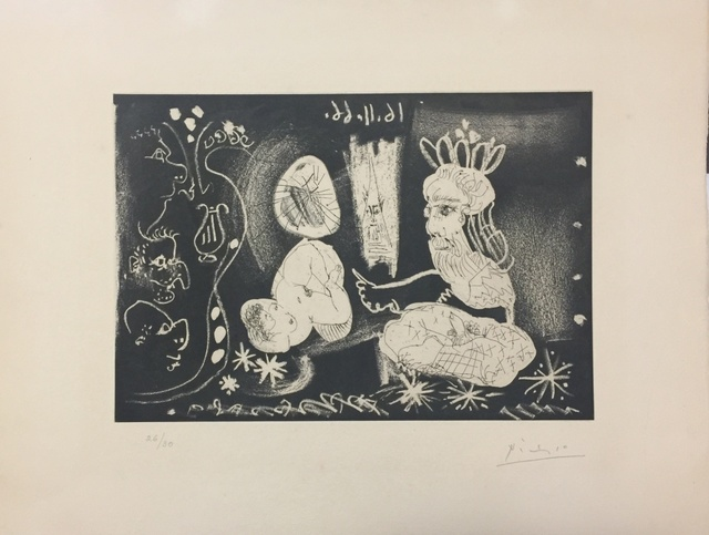 Pablo Picasso, 'Le Cocu Magnifique - Plate V', 1966, Wallector
