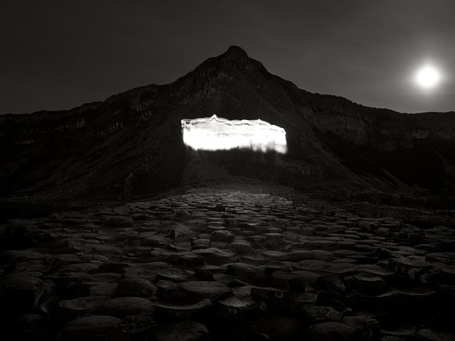 , 'Nightscapes - Giant's Causeway and Light,' 2018, Burning Giraffe Art Gallery