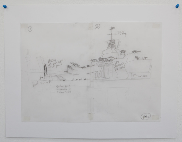 , 'Bilbao Battleship (wt),' 2014, Galerie Parisa Kind