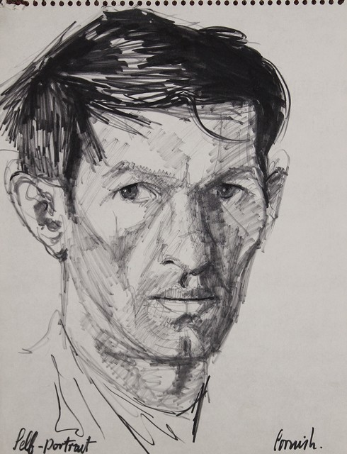 , 'Self portrait ,' ca. 1960, Castlegate House Gallery