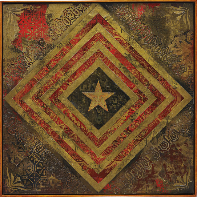 Shepard Fairey (OBEY), 'Power & Glory Flag 1', 2014, Phillips