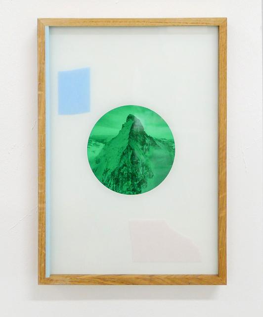 , 'Endurance Flag * Blue & Pink,' 2017, Galerie Kandlhofer
