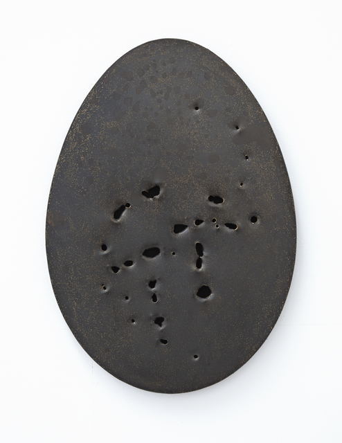 , 'Holy Egg (Small Brass Blackened),' 2018, Alex Daniels - Reflex Amsterdam