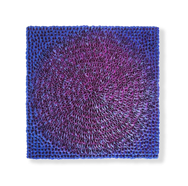 , 'Flower Bed Masterpiece Round Purple,' ca. 2018, Nil Gallery