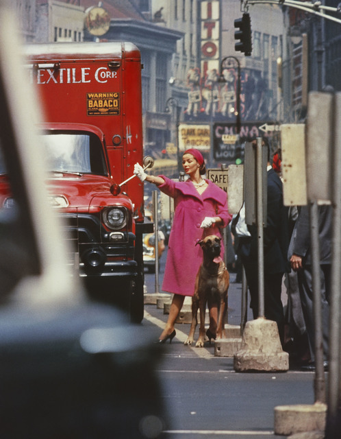 , 'Dolores wants a taxi, New York (Vogue),' 1958, Howard Greenberg Gallery
