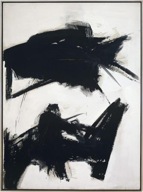 , 'Black Sienna,' 1960, Gagosian
