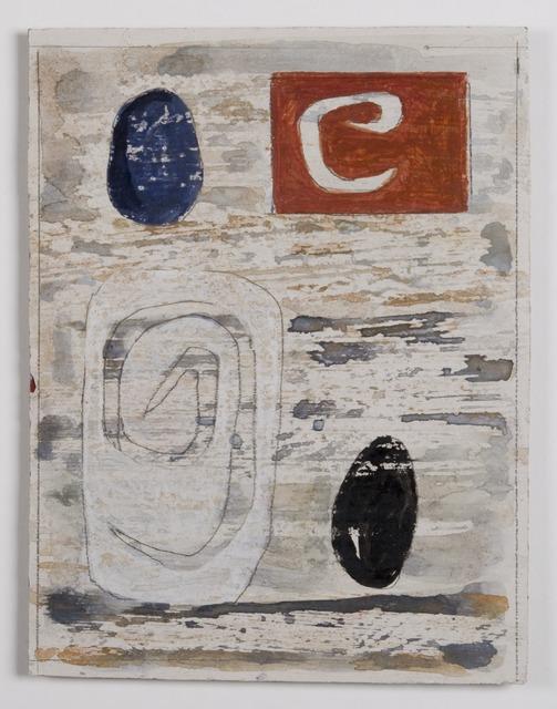 John Piper, 'Design for the North Thames Gas Board glass fibre panels 3', 1962, The Fine Art Society