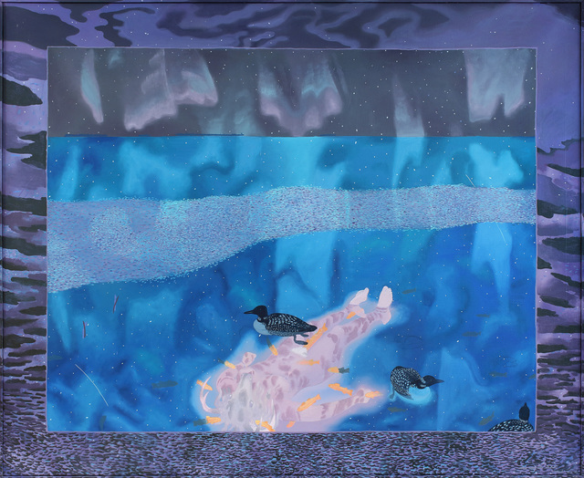 , 'Aino and the Trout,' 1972, Alexandre Gallery