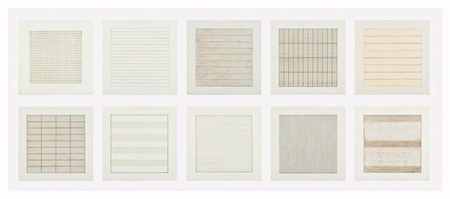 , 'Suite of 10 (Ten) Original Lithographs on Vellum Parchment from Stedelijk Museum, Amsterdam,' 1990-1991, Alpha 137 Gallery