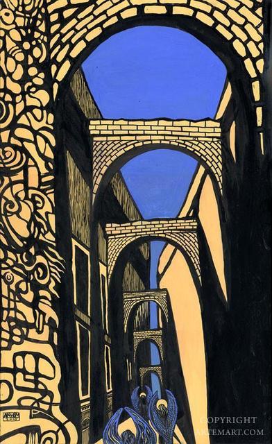 Artem Mirolevich, 'Angel in City of Arches', Urbaniza Studio Gallery