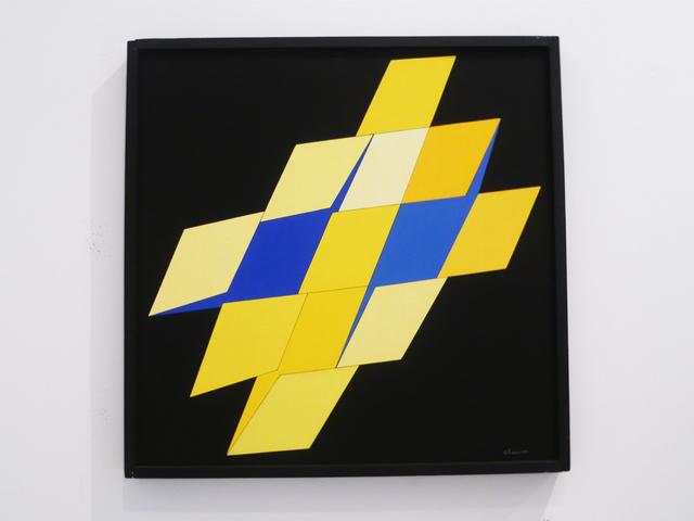 , 'charmonium jaune-bleu,' 1976, Galerie Denise René