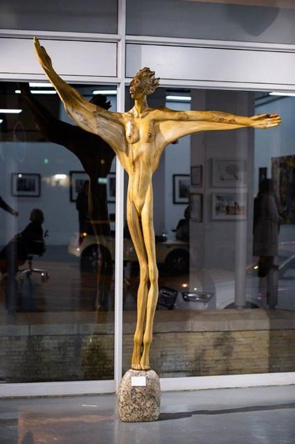 Carl Roberts, 'Vision ', Sculpture, Fig wood, The Melrose Gallery