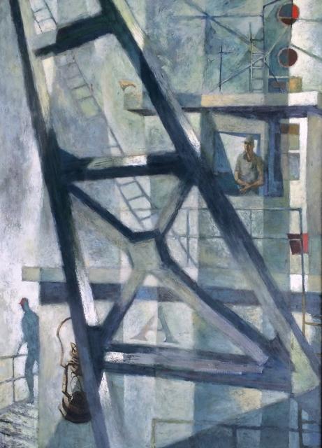 Martin Zippin, 'Dredge Patterns', 1955, The Michael Thomas Collection