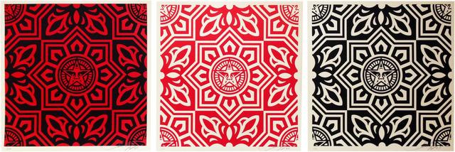 Shepard Fairey (OBEY), 'Venice pattern print', 2009, artrepublic