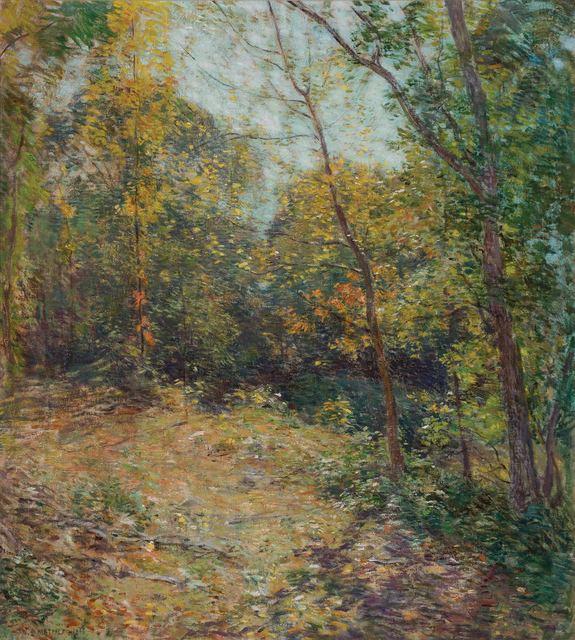 Willard Leroy Metcalf, 'Partridge Woods', 1906, Doyle
