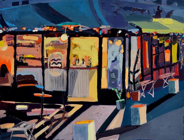 , 'Palmer Cafe,' 2016, Rosenfeld Gallery